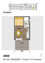A006 apartman - Eladó nyaraló Balatonföldvár, Balaton déli part