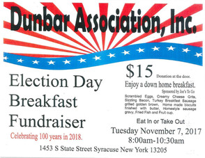 Election Day Breakfast Fundraiser