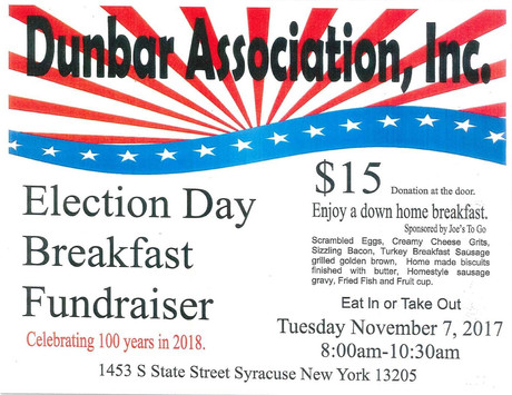 Election Day Breakfast Fundraiser
