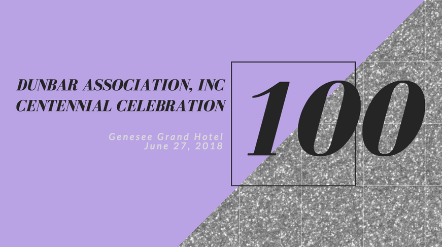 Dunbar Association, Inc 100th Anniversary Gala