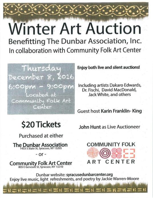 Winter Art Auction 2016