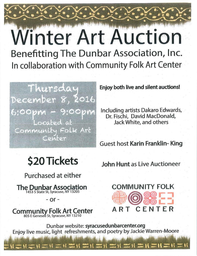 Winter Art Auction 2016