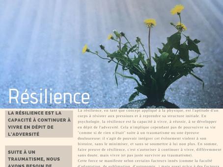 Force N°20 : LA RÉSILIENCE