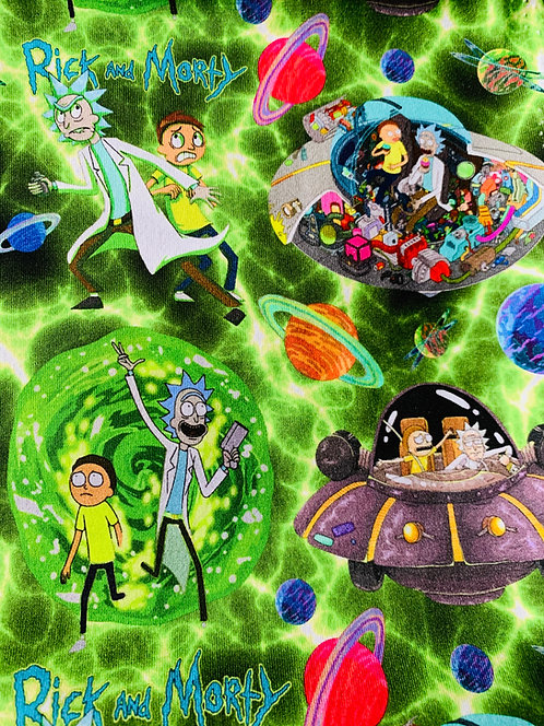 Rick & Morty- green