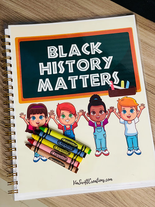 Black History- Coloring Book