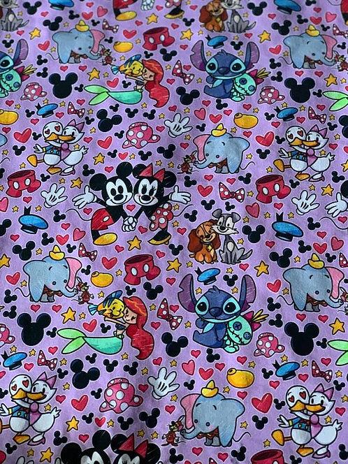 Disney Mesh Up- Purple