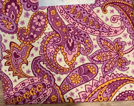 Paisley- Purple