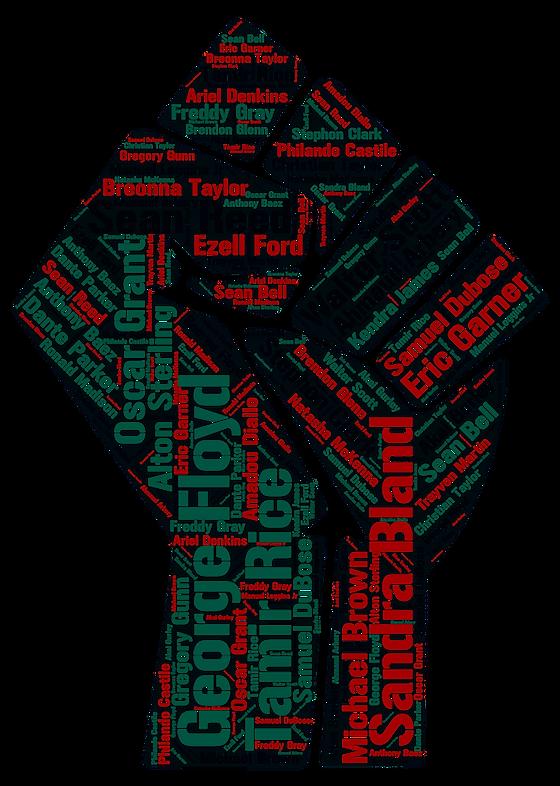 Black Power Fist Victims Names v4 name c