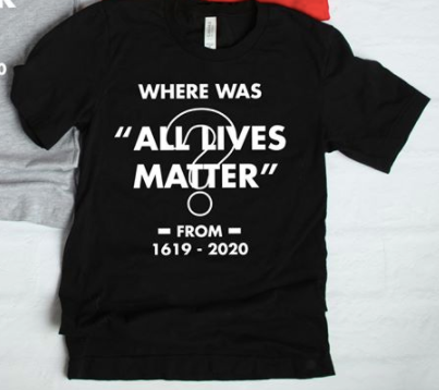 Where was All Lives Matter?
