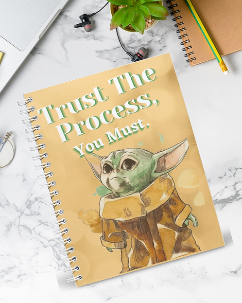 Trust The Process | In Abundance Planner