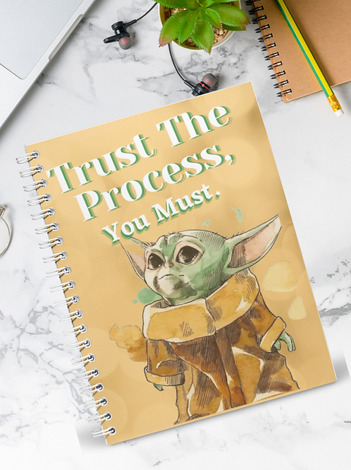 Trust The Process| In Abundance Planner
