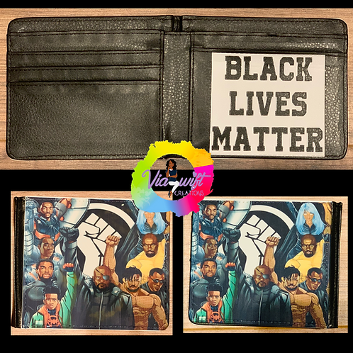 BLM- Marvel Wallet