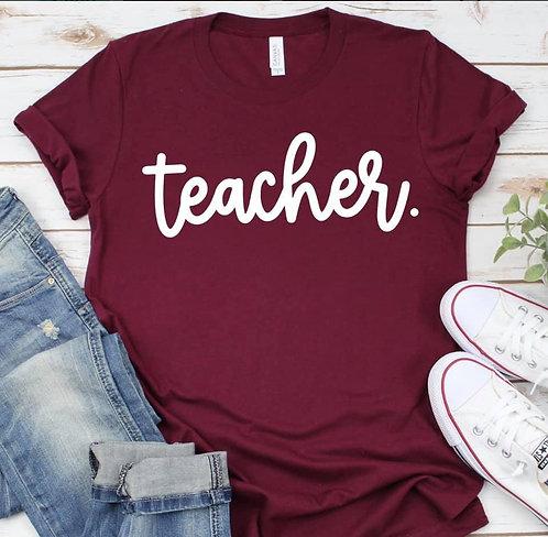 Teacher Period.