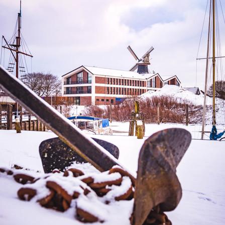 Praxis im Schnee