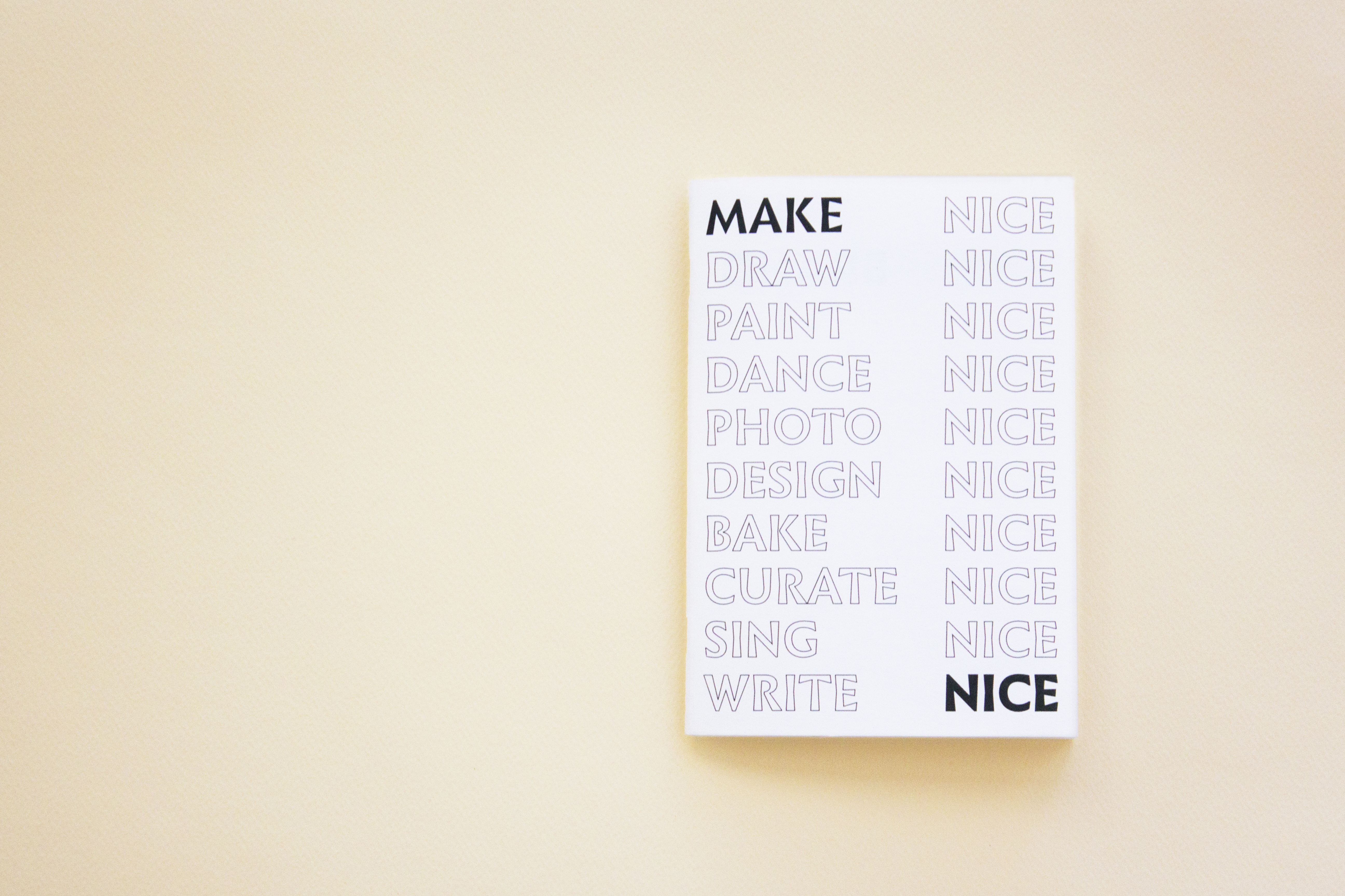 MAKE NICE SPREAD19