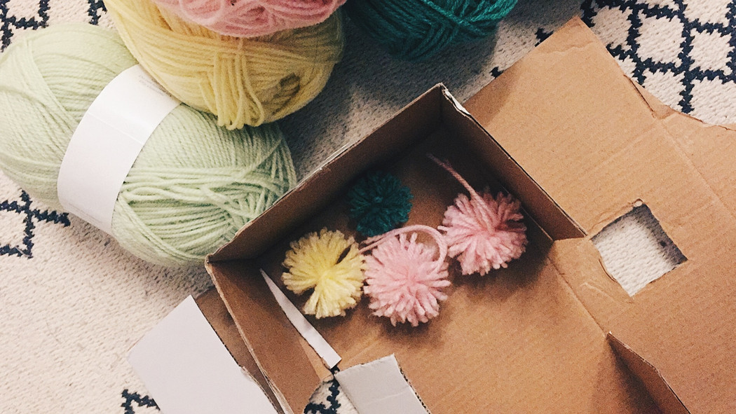Repetition as Meditation — Serious reflection through pom pom making