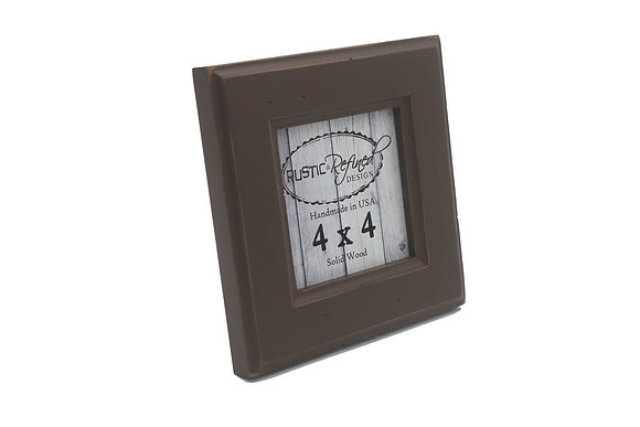 4x4 Moab picture frame - Chocolate Brown