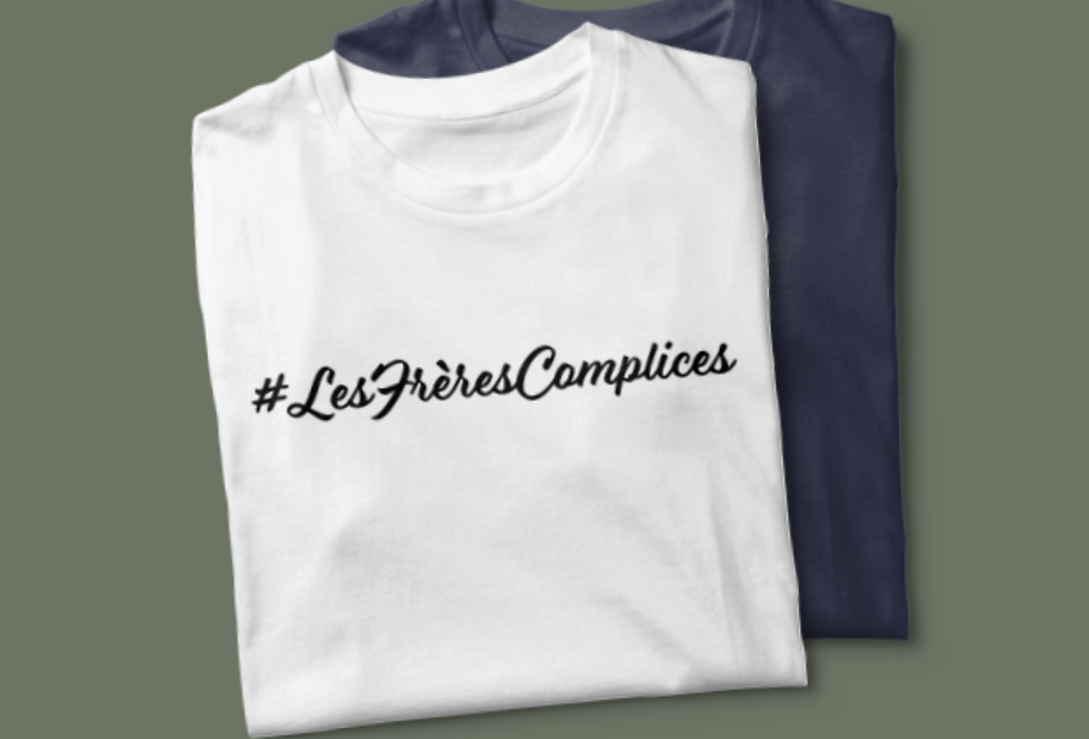 Tee-shirt #LesFrèresComplices
