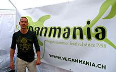 Rapper IFEEL at Veganmania Switzerland
