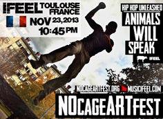 IFEEL NOcageARTfest 2013
