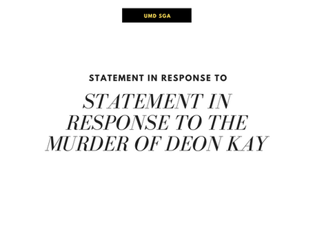 Statement in Response to the Murder of Deon Kay