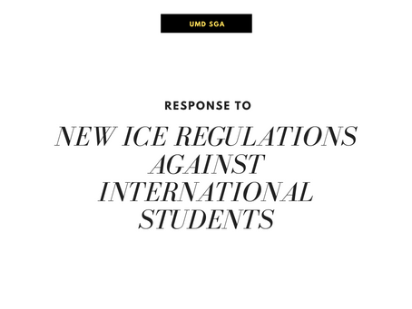 Response to New ICE Regulations Against International Students