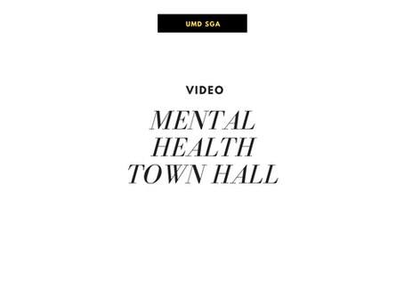 Mental Health Town Hall
