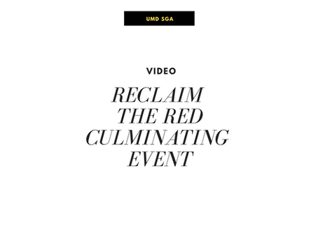 Reclaim the Red Culminating Event