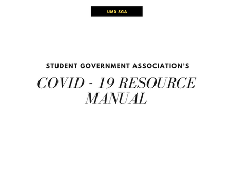 Student Government Association's COVID - 19 Resource Manual