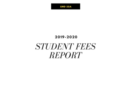 Student Fees Report