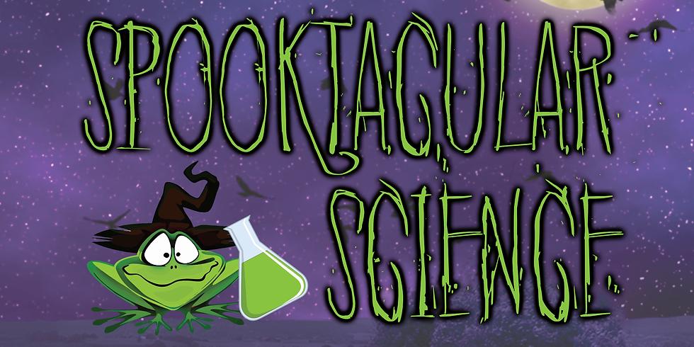 Spooktacular Science 4-6th grades