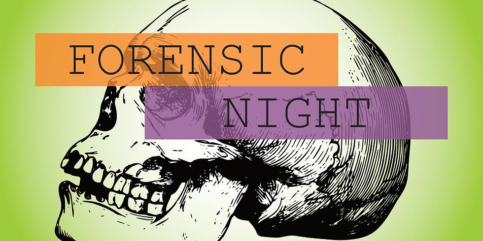 Forensic Night at the Glore Psychiatric Museum