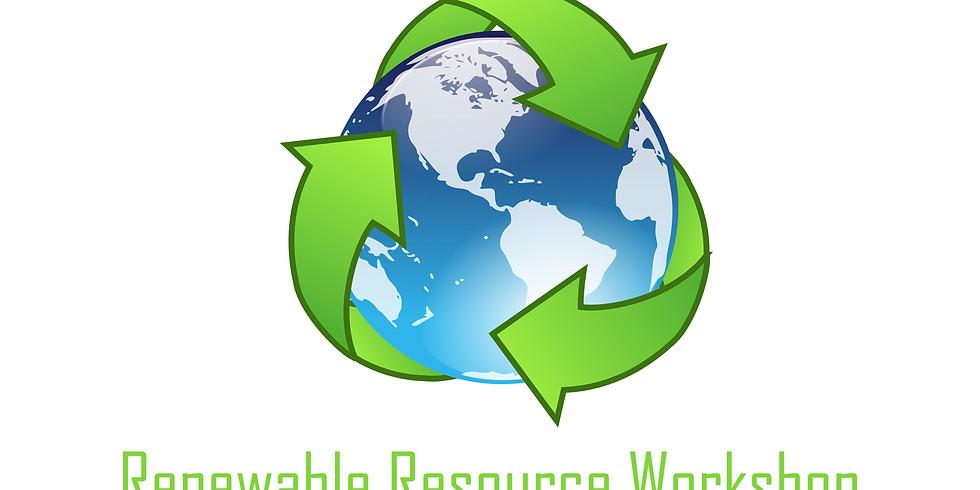 Renewable Resource Workshop