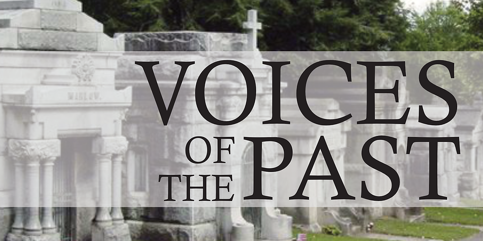 Voices of the Past:  Interpretive Tours of Mount Mora Cemetery featuring Extraordinarily Extraordinary St. Joseph Leader