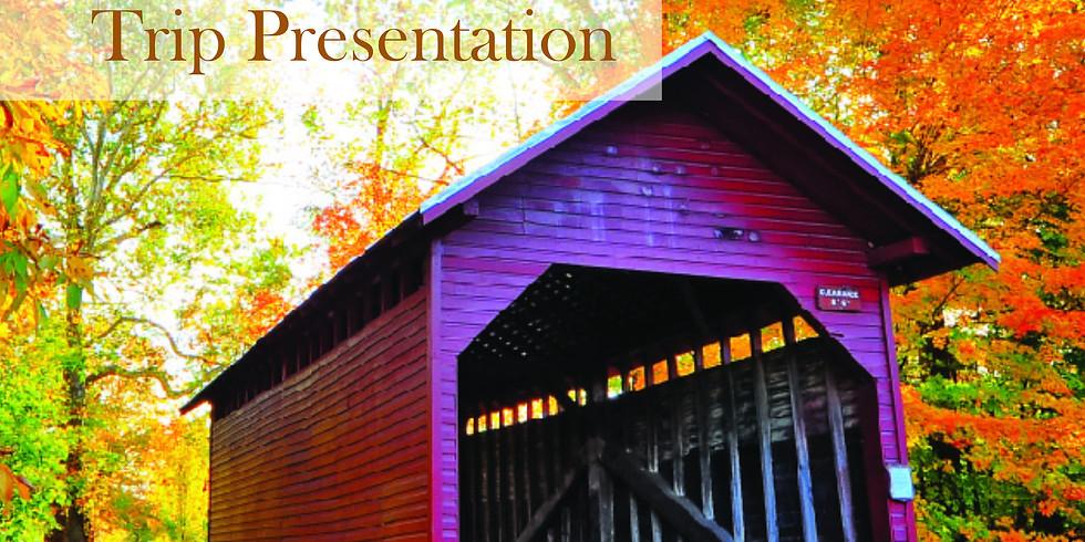 Autumn in New England Trip Presentation