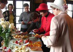 Ladies Tea at the Wyeth-Tootle Mansion