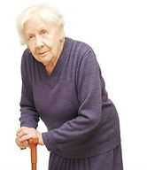 Frail older woman, CGA based Proactive Primary Care of the Elderly