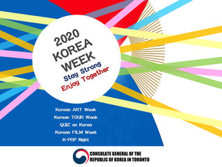 2020 Korea Week : Stay Strong Enjoy Together