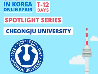 [Cheongju University] Study in Korea Fair Spotlight Series