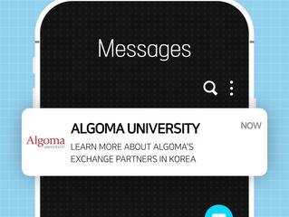 Algoma University - Info on Exchange Opportunities in Korea