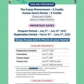 (★ International Students) Summer at SeoulArts Program