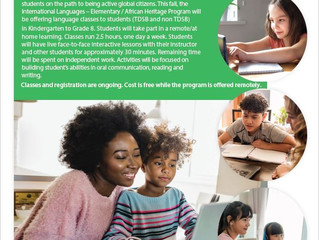 TDSB Online 한글학교 - 접수중