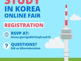 2021 Study in Korea Online Fair