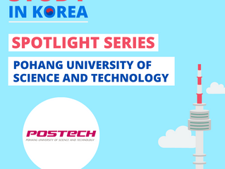 [POSTECH] Study In Korea Spotlight Series