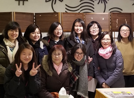 Winter Session Korean Language Class Closing Ceremony