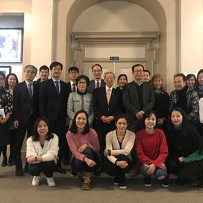 캐나다동부지역/퀘벡 한국학교협회 교사연수회 참석