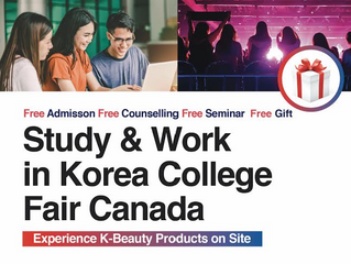 Study and Work in Korea College Fair Canada