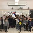한글학교 학생들과 함께하는 3.1운동 100주년 기념 태극기만들기