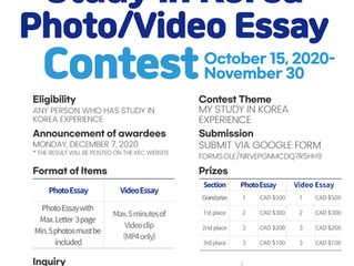 2020 Study in Korea Photo & Video Essay Contest