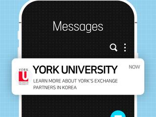 York University - Info on Exchange Opportunities in Korea